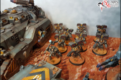 Iron Warrior army