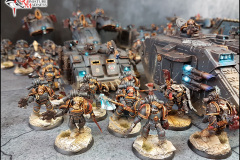 Space Wolf Army